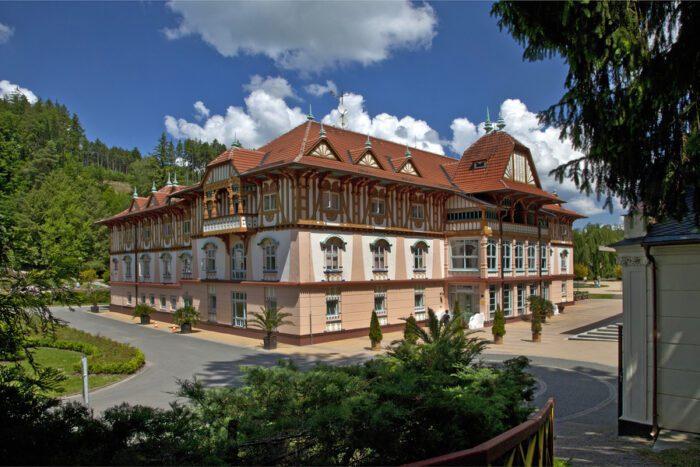 Hotel Jurkovičův dům-ubytování Luhačovice