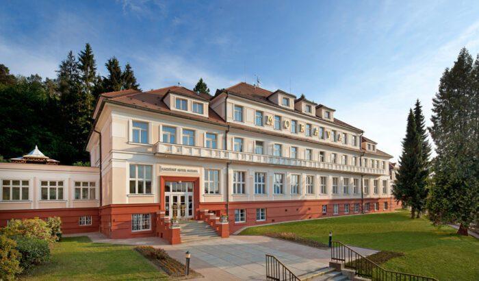 Hotel Morava - ubytování Luhačovice