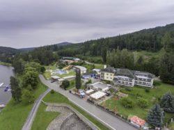Hotel Vyhlídka a koupaliště Duha Pozlovice