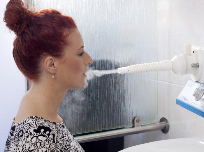 Inhalace vody v Luhačovicích