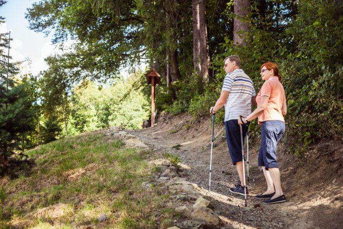 Nordic walking v okolí Luhačovic