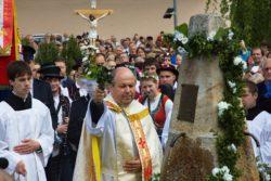 Otvírání pramenů - obřad u pramene Sv. Josefa
