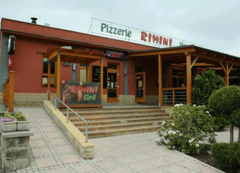 restaurace Pizzeria Rimini