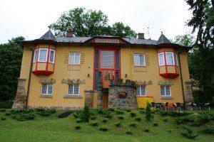 Vila Vlastimila v Pražské čtvrti