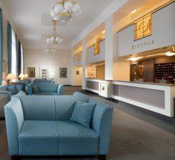 Recepce hotelu Palace Luhačovice