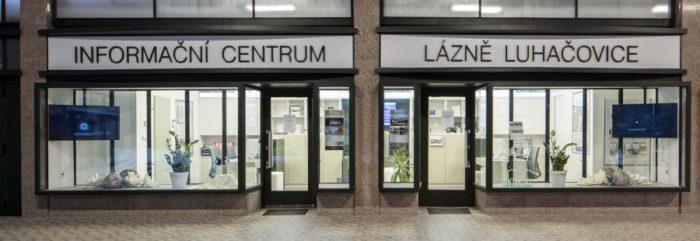 Infocentrum Lázní Luhačovice na kolonádě